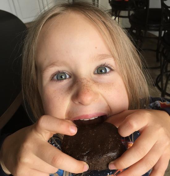 Healthy Brownie Bites