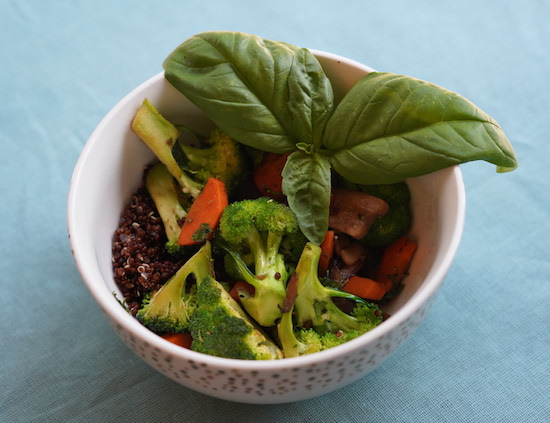 Coco Veggie Stir-Fry with Quinoa
