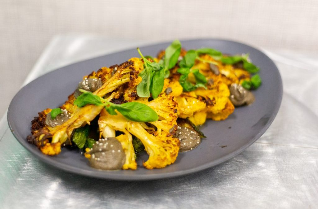 Za'atar Seared Heirloom Cauliflower Steak