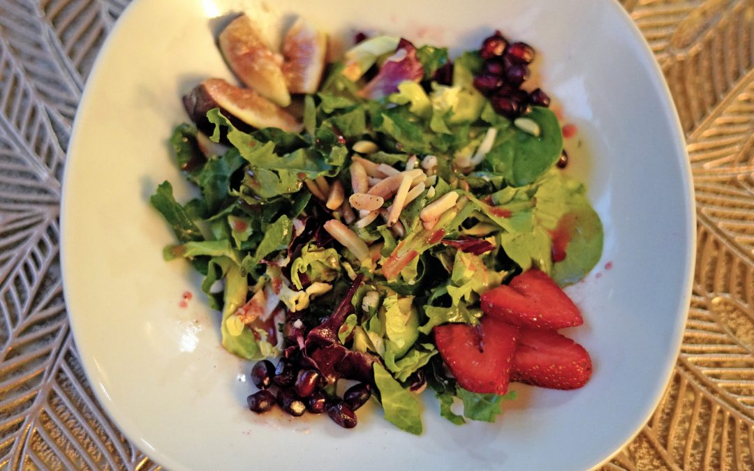 Strawberry Quinoa and Almond Salad with Can't Beet This! Dressing