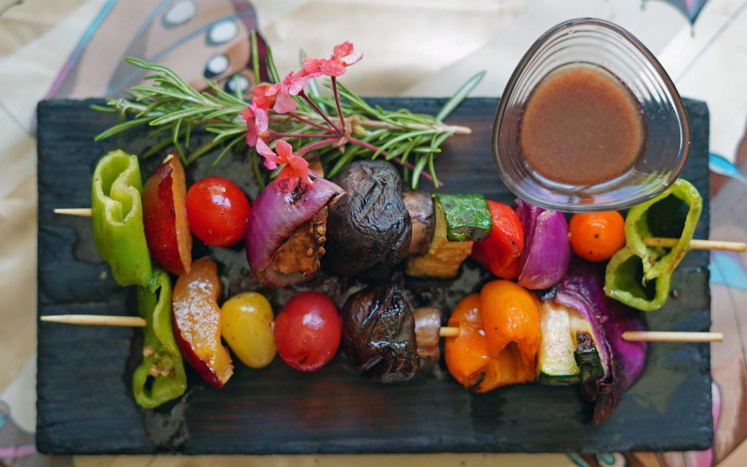 Bio Fruit Kebabs