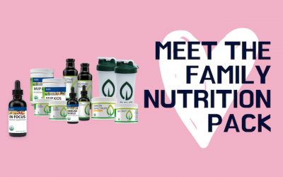 Family Nutrition Pack Suggested Schedule
