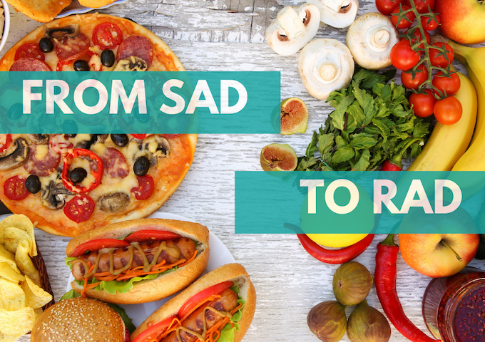 From SAD to RAD: Lifestyle Change from the Standard American Diet to the Real American Diet
